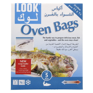 Look Oven Bags Size 25 x 55cm 5pcs