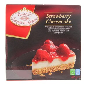 Conditorei Coppenrath And Wiese Strawberry Cheesecake 485g