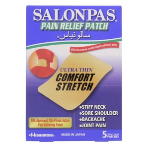 Salonpas Pain Relief Patch cm x 10cm 5 Patches