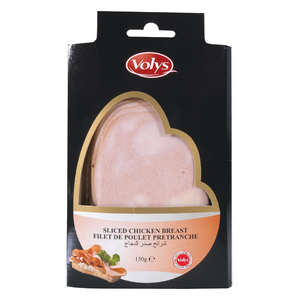 Volys Sliced Chicken Breast 150g