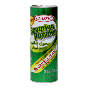 Classic Scouring Powder With Bleach 21oz