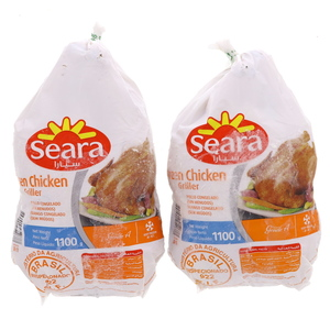 Seara Frozen Whole Chicken 1.1kg x 2pcs