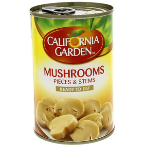 California Garden Canned Mushrooms Pieces & Stems 425g