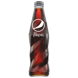 Diet Pepsi Carbonated Soft Drink Glass Bottle 250ml