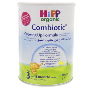 Hipp Organic Combiotic Growing-Up Formula stage 3 900g