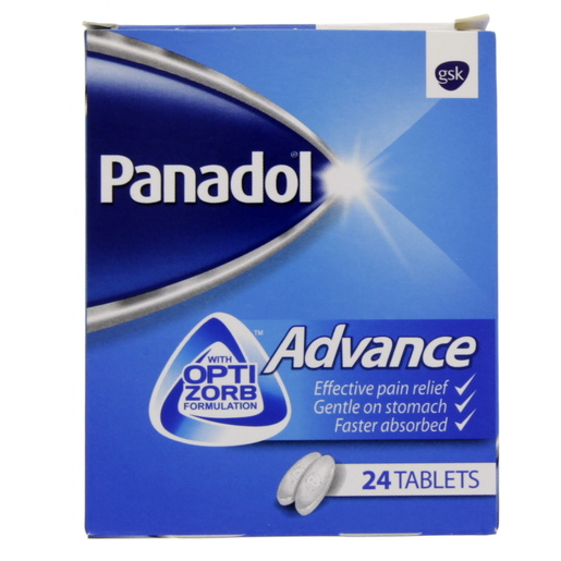 Panadol Advance, 24 Tablets