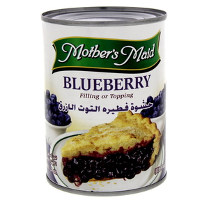 Mother's Maid Blueberry Pie Filling 595 Gm