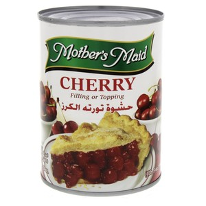 Mother's Maid Cherry Filling Or Topping 595 Gm