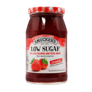 Smucker's Preserves Low Sugar Strawberry 440g