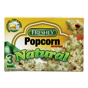 Freshly Microwave Popcorn Natural 297g