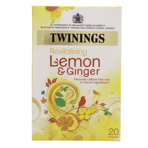 Twining's Revitalizing Lemon And Ginger 20pcs