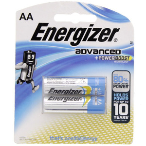 Energizer Advanced +Power Boost AA Battery X91RP2