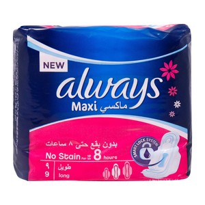 Always Maxi  Fresh Long Sanitary Pad 9pcs