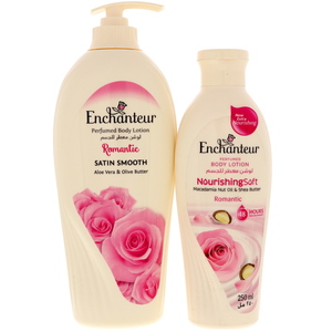 Enchanteur Body Lotion Assorted 500ml + 250ml
