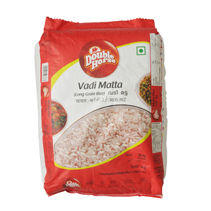 Double Horse Vadi Matta Rice Long Grain 20kg