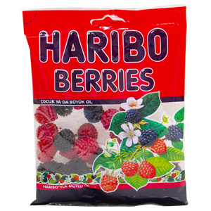 Haribo Berries Fruit Flavour Jelly Candy 160g