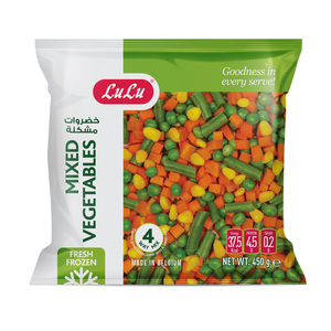 Lulu 4 Way Mixed Vegetables 450g