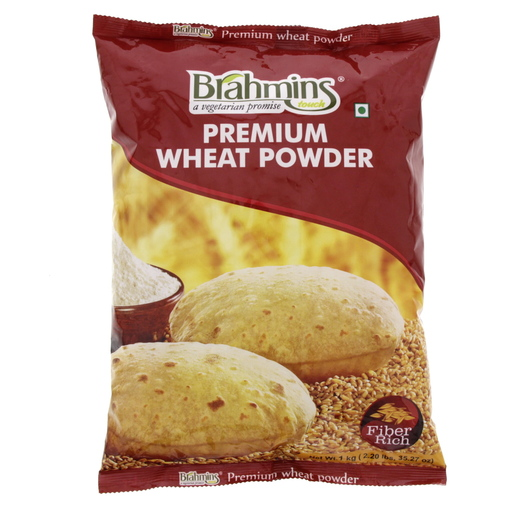 Brahmins Premium Wheat Powder 1 Kg