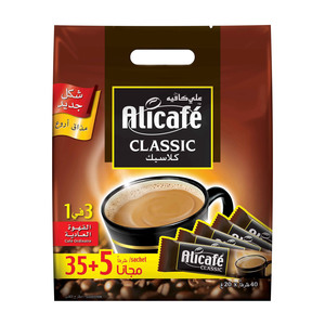 Power Root Alicafe Classic 3 In1 Regular Coffee 40 Sachets 700g