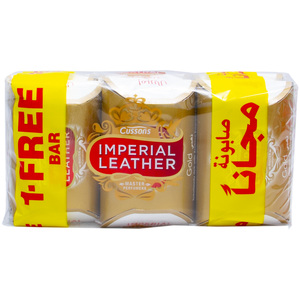 Imperial Leather Gold Soap 6 x 125g