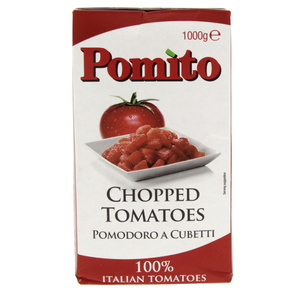Pomito Chopped Tomatoes 1000g