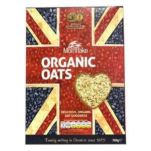 Mornflake Organic Oats 750g