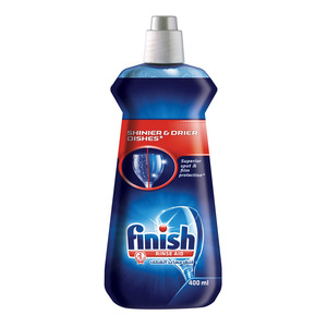Finish Rinse Shinier & Drier Dishes 400ml
