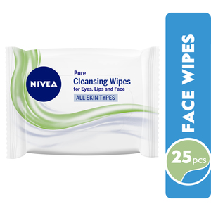 Nivea Face Wipes Pure Cleansing All Skin Types 25pcs
