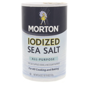 Morton Iodized Sea Salt All Purpose 737g
