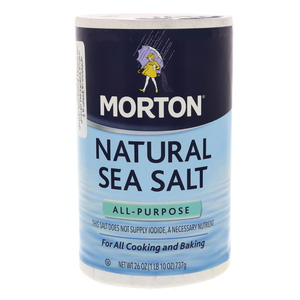 Morton Natural Sea Salt 737g