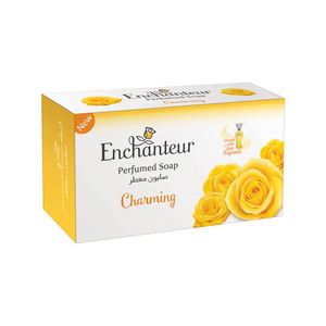 Enchanteur Charming soap with Citrus and Cedarwood Extracts 125g