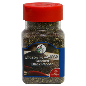 Al Fares Cracked Black Pepper 100g