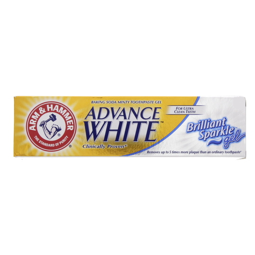 Arm And Hammer Toothpaste Advance White Brilliant Sparkle Gel 115g