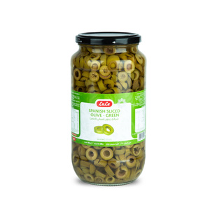 Lulu Spanish Green Olive Sliced 450g