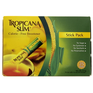 Tropicana Slim Calorie Free Sweetener Stick Pack   25's