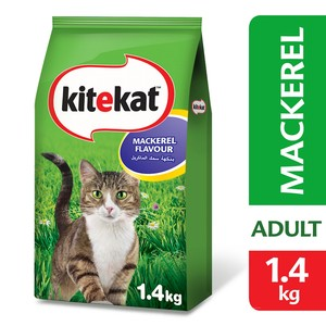 Kitekat  Mackerel Dry Cat Food 1.4kg