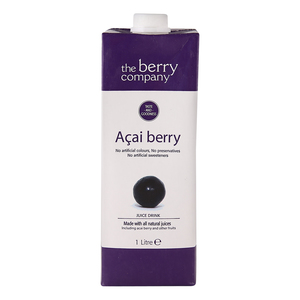 The Berry Company Acai Berry Juice Drink 1Litre
