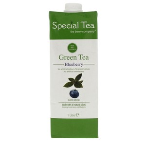 The Berry Company Green Tea Blueberry Juice Drink 1Litre