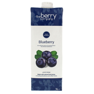 The Berry Company Blueberry Juice Drink 1Litre