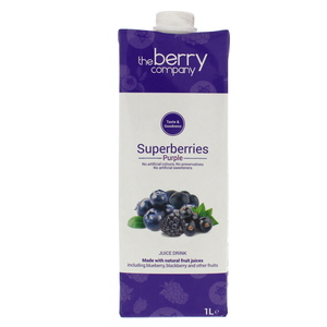 The Berry Company Superberries Juice Drink 1Litre