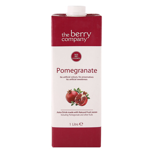 The Berry Company Pomegranate Juice Drink 1Litre