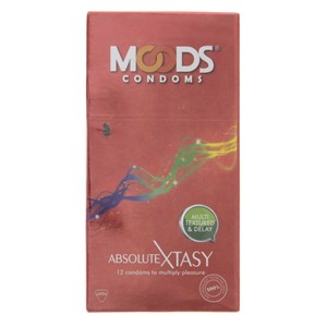 Moods Condoms Absolute Xtasy 12pcs