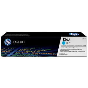 HP 126A Cyan LaserJet Toner Cartridge CE311A