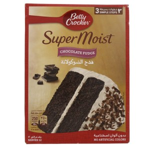 Betty Crocker Super Moist Chocolate Fudge Cake Mix 500 Gm