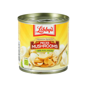 Libby's Pieces And Stems Mushrooms 184g