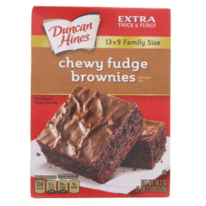 Duncan Hines Chewy Fudge Brownies Mix 520 Gm