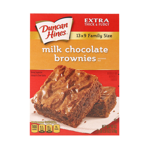 Duncan Hines Milk Chocolate Brownie Mix 510 Gm