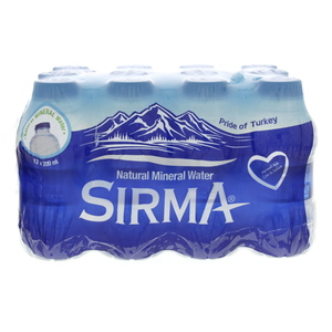 Sirma Natural Mineral Water 200ml