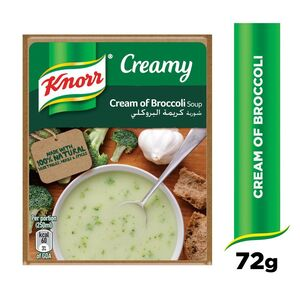 Knorr Packet Soup Cream of Broccoli 72g