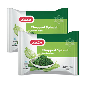 Lulu Frozen Chopped Spinach 2 x 400g